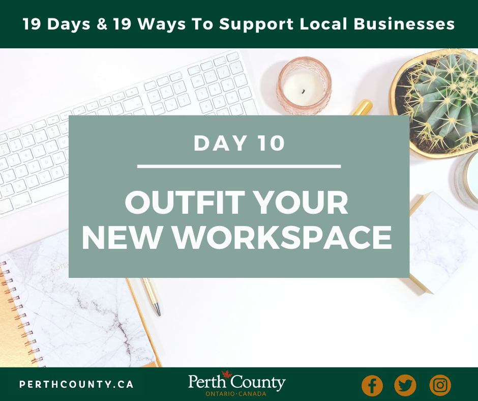 Outfit Your New Workspace