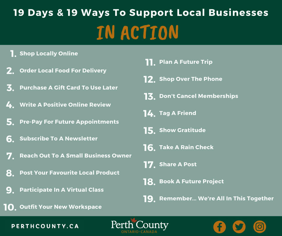 Click Here for information on the 19th Ways & 19 Days Campaign