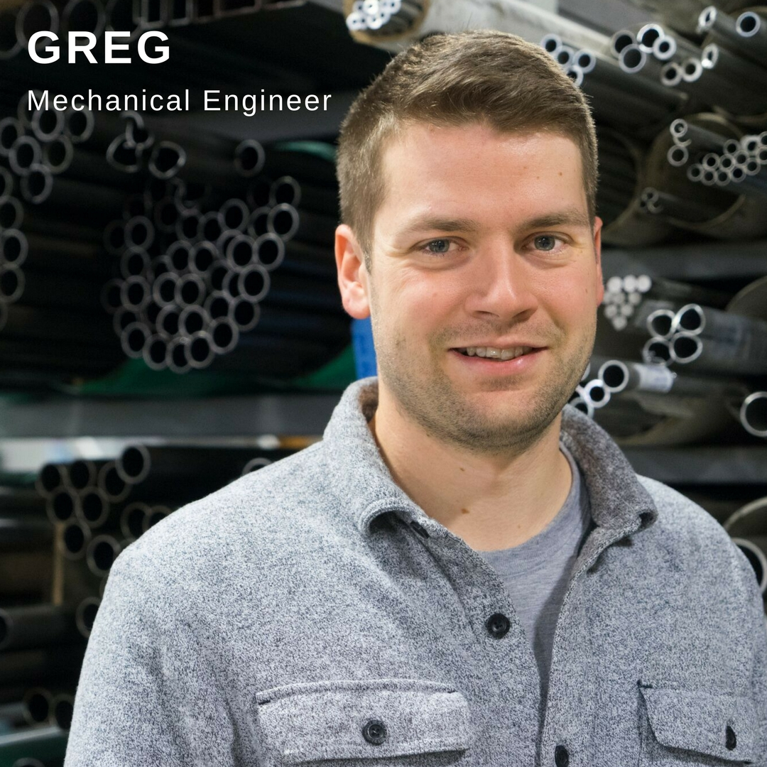 Greg Mechanical Engineer Profile Poster Link