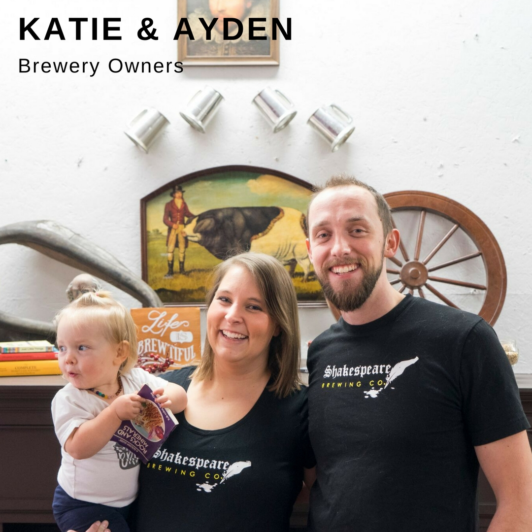Katie & Ayden Brewery Owners Profile Poster Link