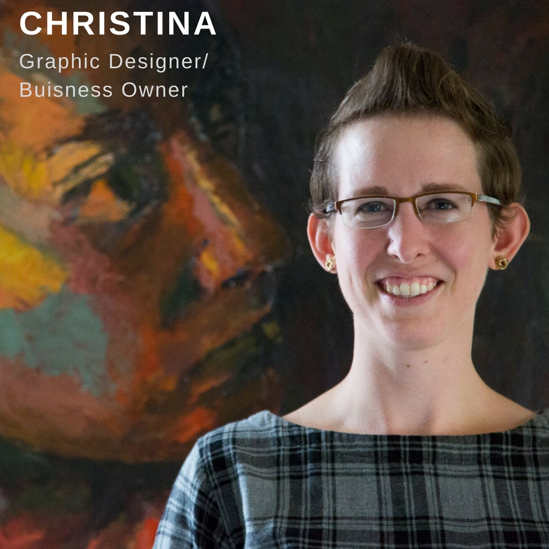 Christina Graphic Designer Profile Poster Link