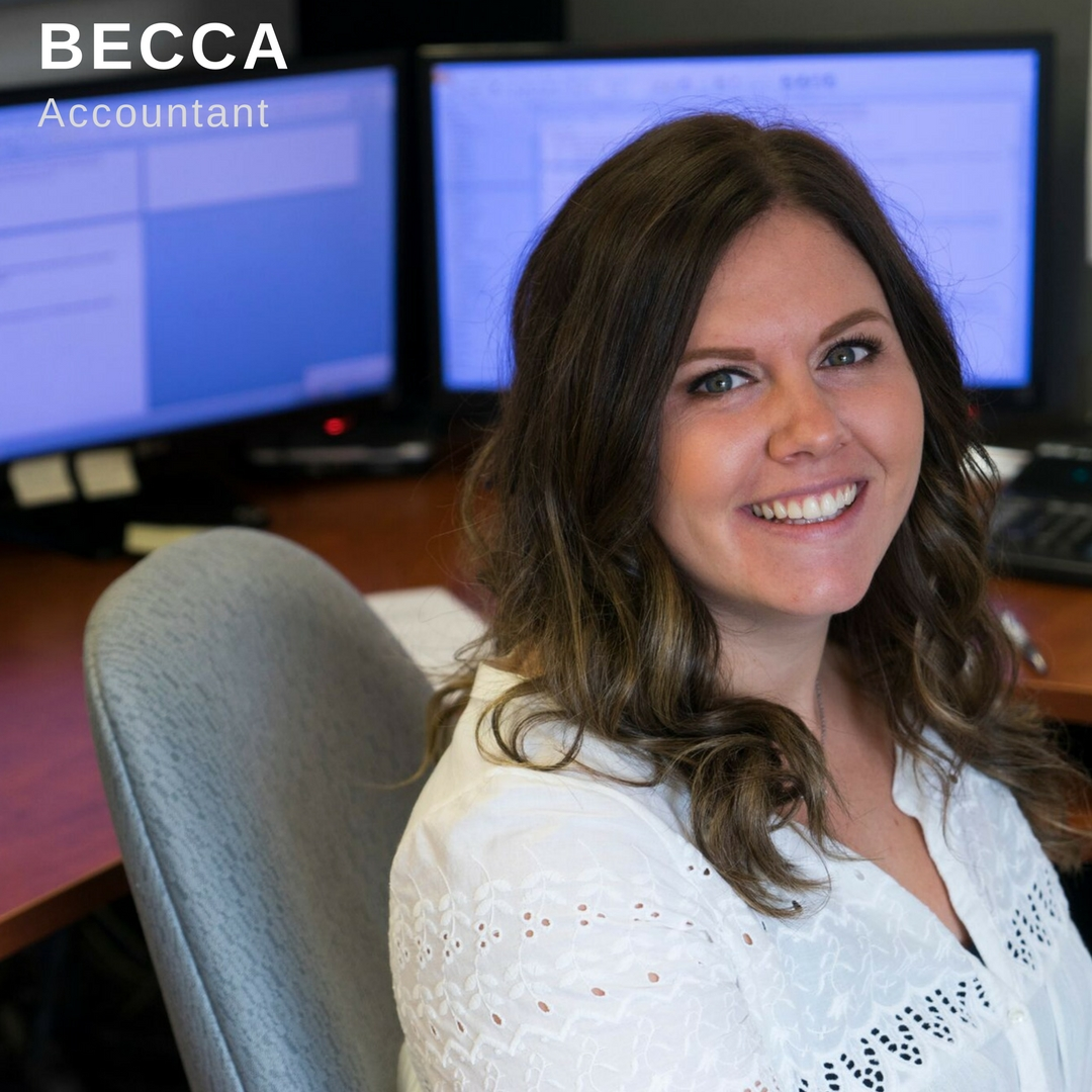 Becca Accountant Profile Poster Link
