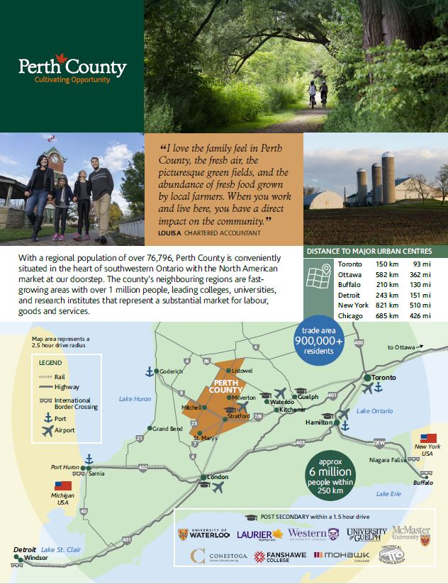 Perth County At A Glance