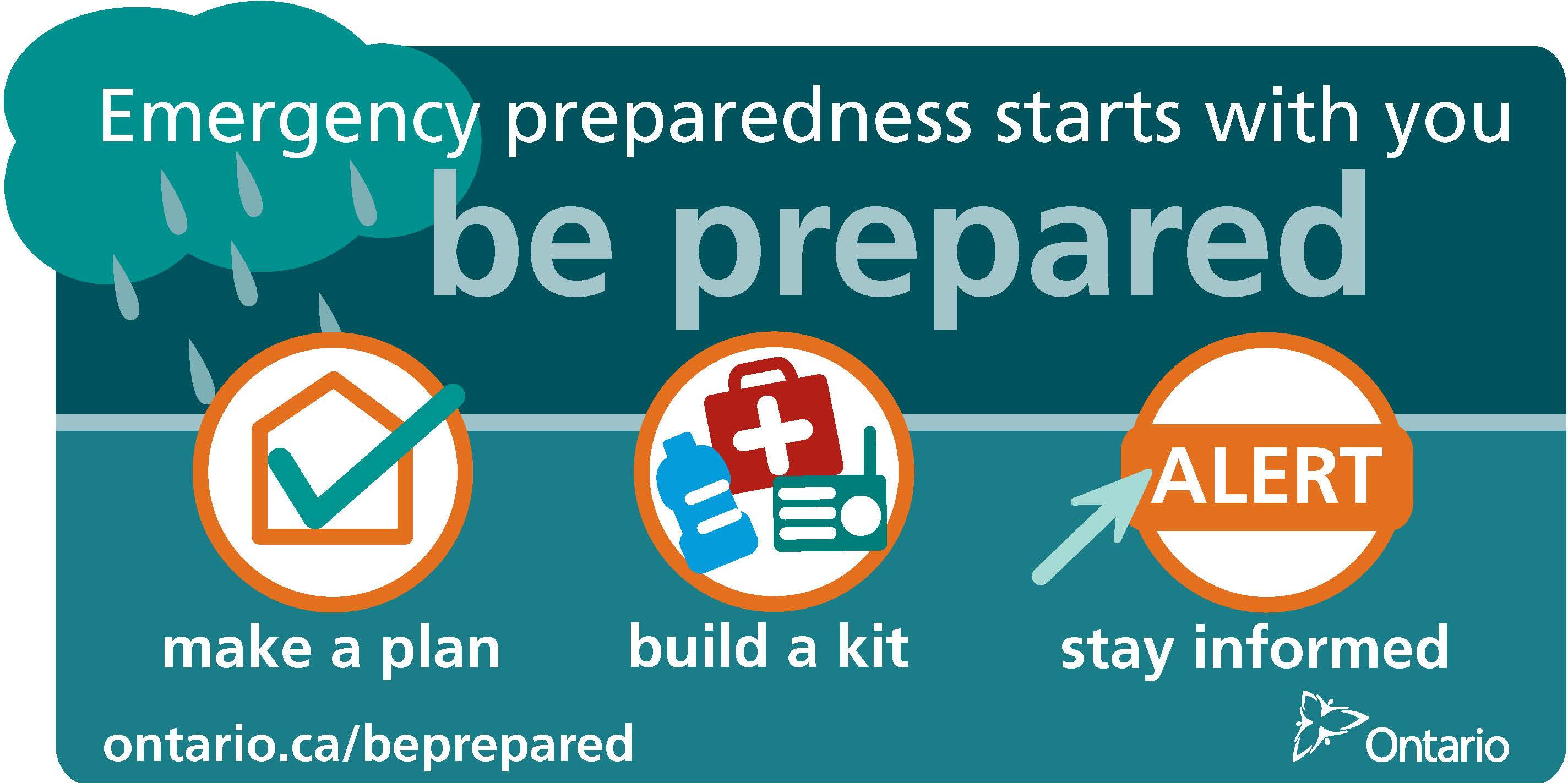 Link to Ontario Government Page on Emergency Preparedness